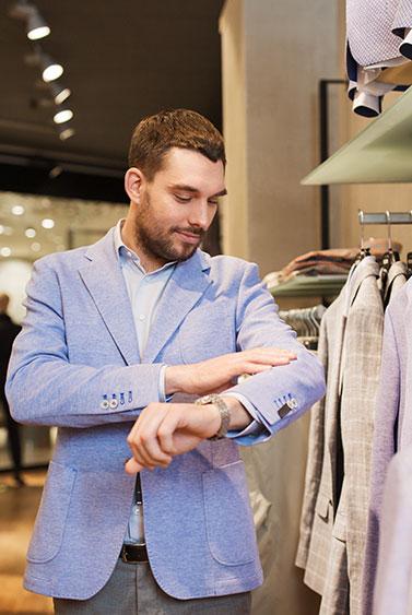 Ropa para hombres en Centro Comercial El Dorado